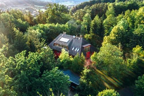 Purer Luxus in Graz- Alleinlage auf einer Waldlichtung!