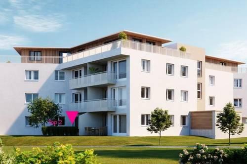 ERSTBEZUG  Exklusives Mietobjekt -2 Zi.-Garten-Wohnung im Ortszentrum von Mondsee
