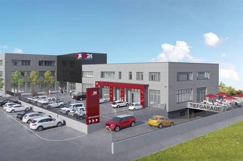 Super schöne Büro-, Praxis- und Geschäftsflächen ab 80 m² in TOP LAGE im Q24 in Imst zu vermieten