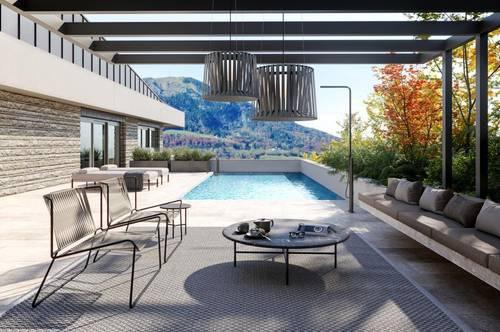 "Residieren am Heuberg - Penthouse ""Gaisberg"" inkl. Pool, Garten und XXL-Terrasse"