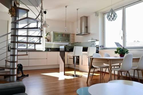 Neuwertige & Luxuriöse 3 Zimmer Dachterrassenwohnung - ca 77 m² Wnfl - 5020 Salzburg / Maxglan