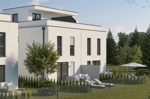 ST.PÖLTEN WAGRAM: Moderne Dachterrasse mit eigenem Garten (Haus 3 DT)