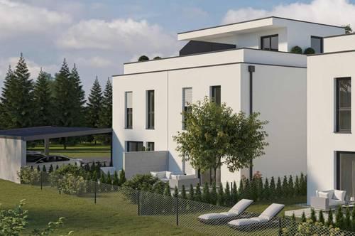 Günstige Doppelhaushälfte mit Garten und Dachterrasse in St. Pölten - Wagram (Haus 2 DT)