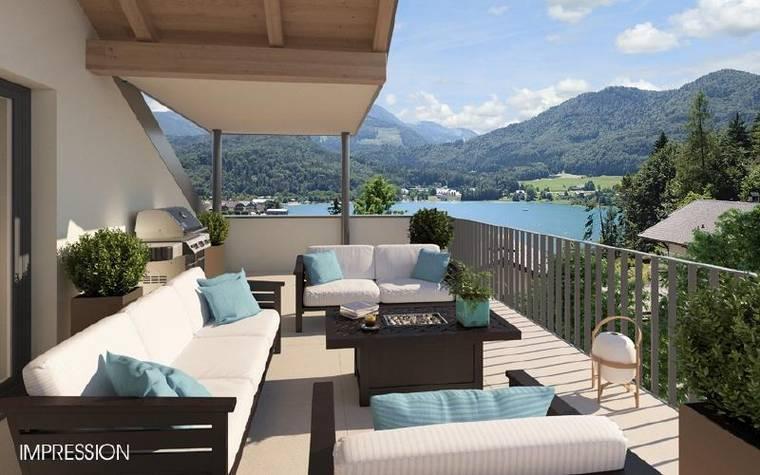 3-4-Zimmer-Premiumwohnungen-Fuschl am See-Aussicht