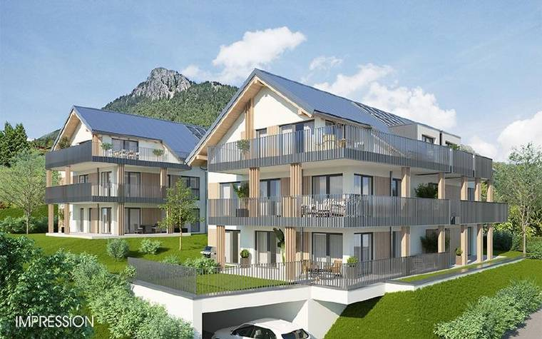 3-4-Zimmer-Premiumwohnungen-Fuschl bei Salzburg-Ansicht