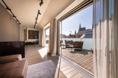 Stylishes Penthouse mit Rathausblick
