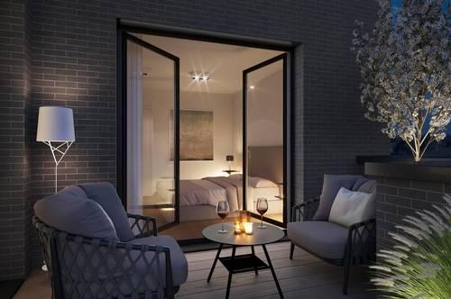 NEUBAUPROJEKT IN GRINZING: Außergewöhnliche Etagenwohnung mit vier Balkone!