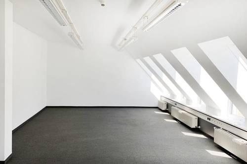 Attraktives Dachgeschoß Büro nächst Hauptbahnhof