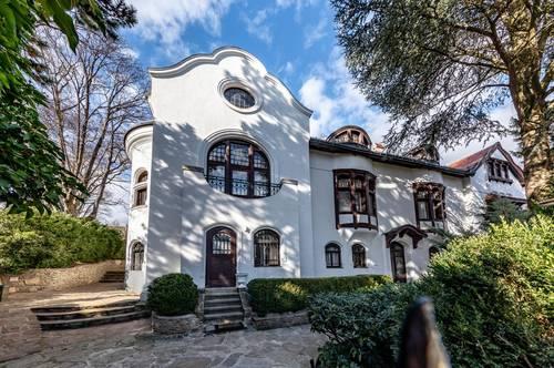 Herrschaftliche Villa am Fuße des Nußberges