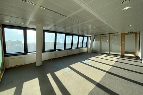Sonnige Büroflächen mit Weitblick
