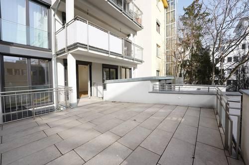 Helle Neubauwohnung mit Terrasse nähe Landstraße