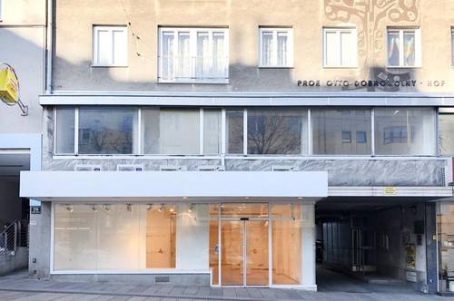Geschäftsfläche in Frequenzlage direkt auf der Meidlinger Hauptstraße