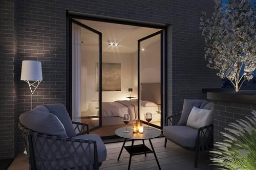Grinzing: Etagenwohnung mit vier Balkons!