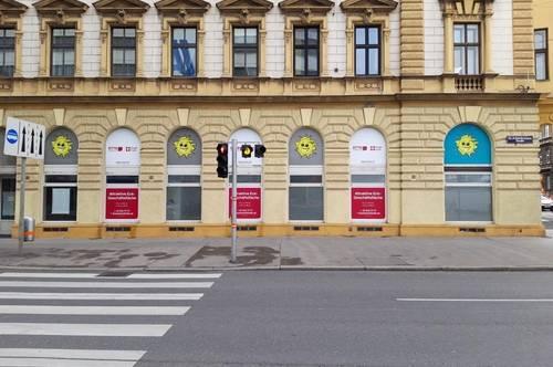 Attraktive Eck-Geschäftsfläche nahe U-Bahn