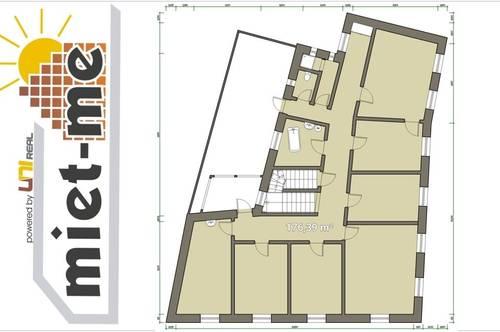 - miet-me - 176 m² plus optional weitere 140 m² barrierefreie Praxis/Atelier/Trainigshalle/Seminarraum/Lager