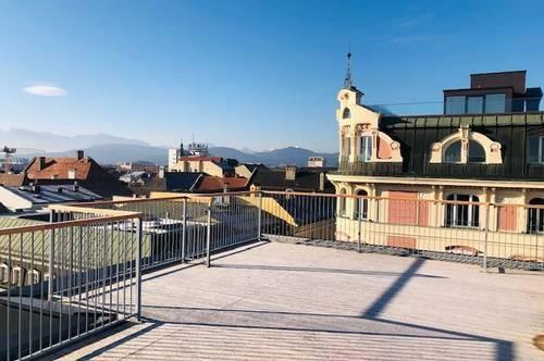 Über den Dächern von Klagenfurt - Maisonette - Klimaanlage