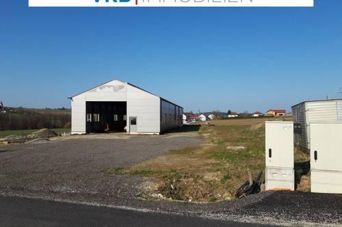 Neubau Gewerbehalle mit Fertigstellungsbedarf in der Nähe von Ried im Innkreis, viele Verwendungsmöglichkeiten!