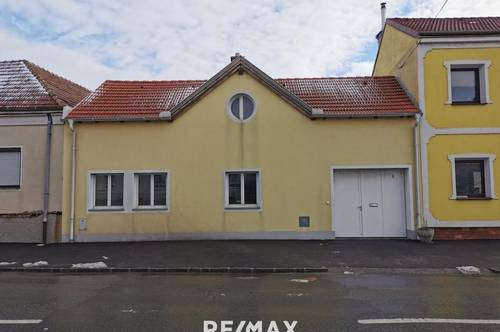 Kleines Haus auf großem Baugrund - nur 25 Minuten nach Wien