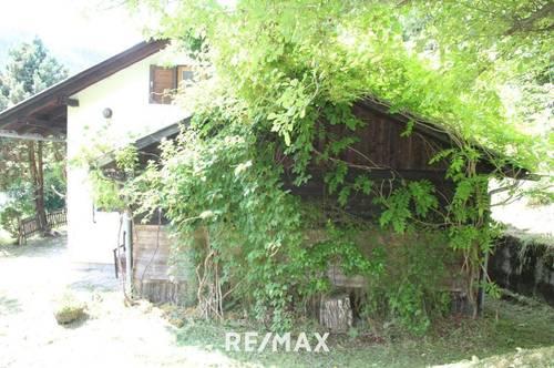 Idyllisches Haus in den Bergen