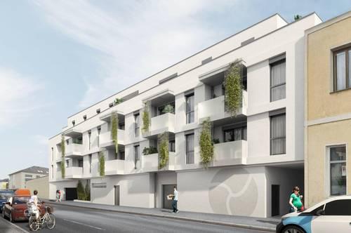 Top 16 | Wohnen mit grünem Innenhof – 104 m²