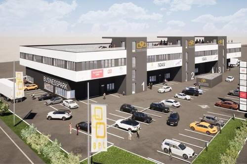 Büro-, Gewerbeflächen von 150 - ca. 2.000 m² im Businesspark Langkampfen