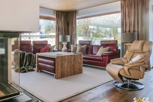 FREIZEITWOHNSITZ - Villa mit Traum Ausblick in St.Johann in Tirol