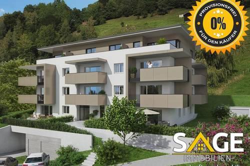 Herrliche 3- Zimmer Dachterrassenwohnung in Lend