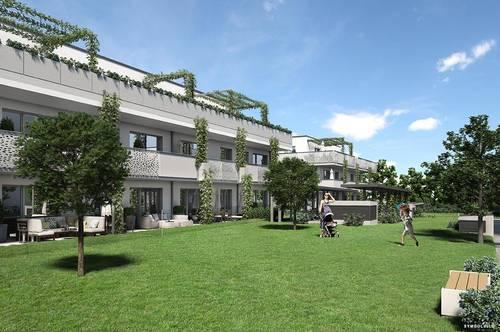 Familienwohnung mit großem Eigengarten