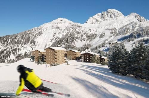 Natürlicher Lebensraum von Skihasen.