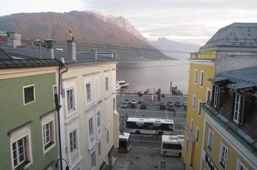 Kleine, gemütliche Wohnung mit See- und Gebirgsblick