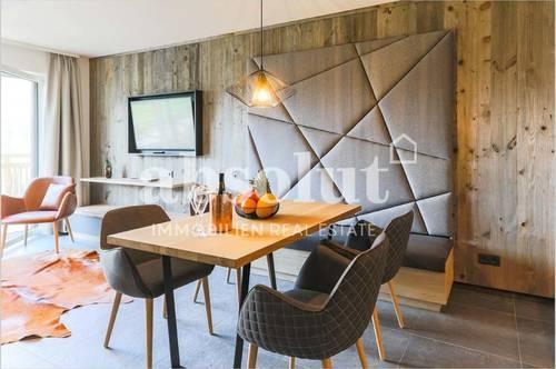 Luxuriöse 5-Zimmer-Appartement in Zell am See! Eigene Sauna! Wellness-Suiten mit Blick auf den See!