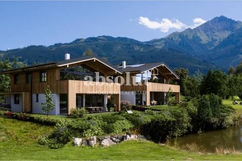 Exklusives Chalet in attraktivem Wohnprojekt mit nur 4 Einheiten direkt am Golfplatz von Zell/See!