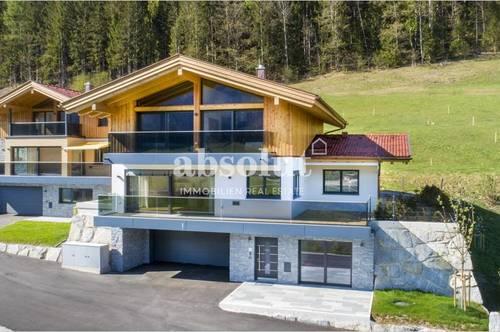 Luxuriöses Design-Chalet in schöner und ruhiger Lage m. traumhaftem Panoramablick auf die Bergwelt!