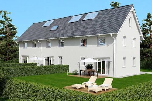 Mehr Ruhe und Platz im neuen Einfamilienhaus mit Keller, Terrasse und Eigengarten samt Parkplatz
