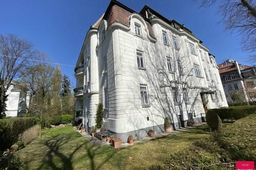 Geräumige Familienwohnung mit Gartenanteil im Hietzinger Cottage-Viertel