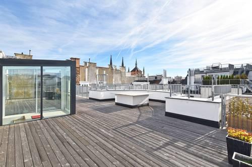 Luxuspenthouse mit ca. 101 qm Sonnenterrasse