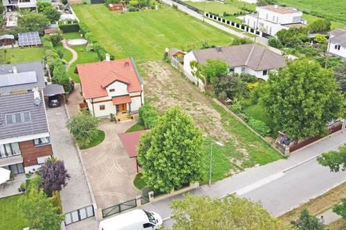 Weitläufiges Bauträger-Grundstück in Oberlaa