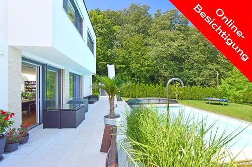 360°-Tour! Moderne High-End-Villa in exklusiver Traumlage