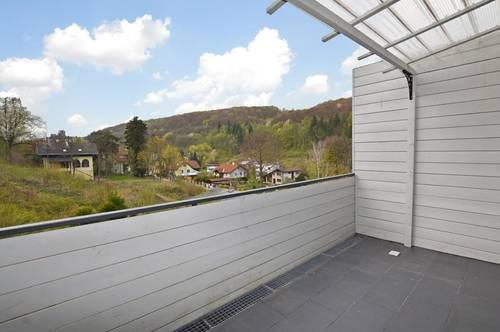 Maisonette-Wohnung mit Terrasse und Grünblick