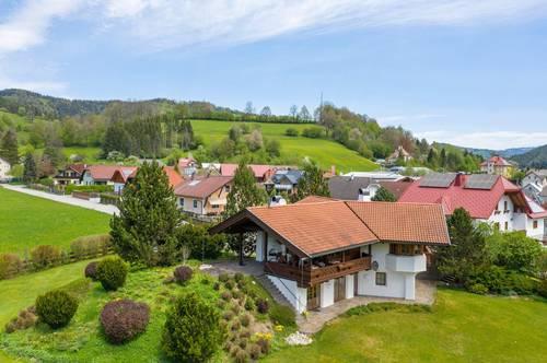 Exzellente alpine Architektur im Traisental