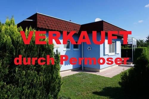 gepflegtes Ferienhaus (Esterhazy See) auf Pachtgrund zu verkaufen