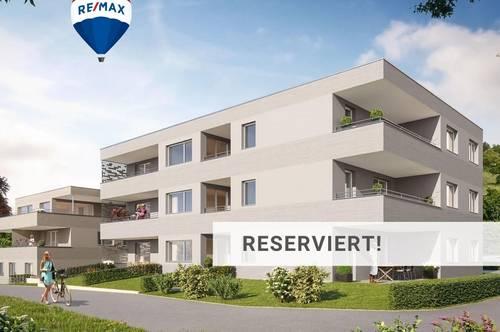 Gutaussehende Nagelneue 3 Zi-Wohnung mit Terrasse