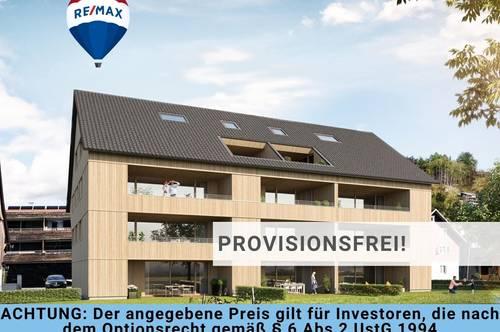 2 Zi Neubauwohnung in attraktiver Stadtrandlage: Perfekt für Anleger