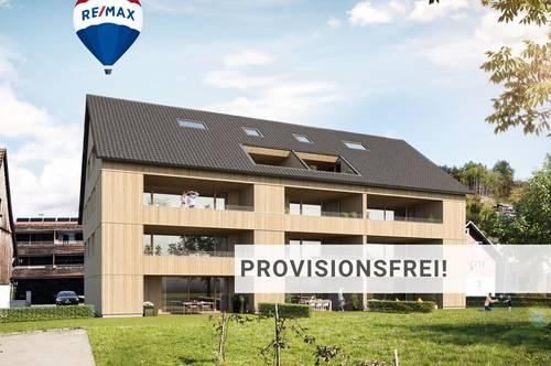 Neubau: attraktive 2 Zi Wohnung in Dornbirn-Hatlerdorf