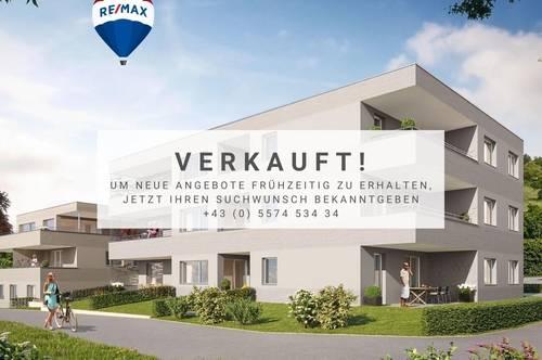Strahlende, Jungfräuliche Dachgeschosswohnung in Röthis