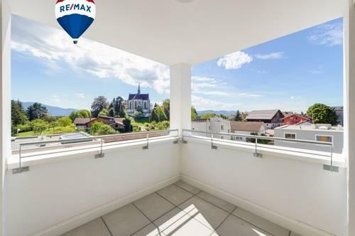 ERSTBEZUG: Gemütliche Dachgeschosswohnung mit fantastischer Aussicht