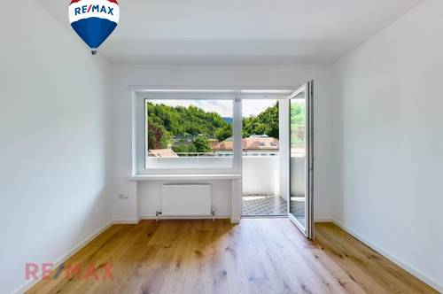 Frisch sanierte Wohnung mit wunderbarer Aussicht bis zum Bodensee