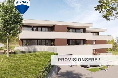 Neubau: Am Fuße des Jagdberges 3,5 Zi Wohnung