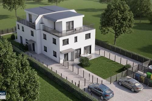 Haus mit Garten - Niedrigenergie - Fertigteilhaus - unterkellert - belagsfertig - Nähe Trautmannsdorf
