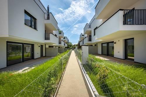 Gartenwohnung für Jung und Junggebliebene in Stammersdorf - Bezugsfertig!